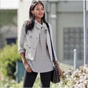 CAbi sheer blouse size XS